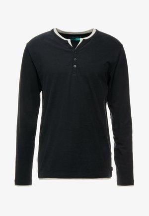 2IN1 PEACH - T-shirt à manches longues - black