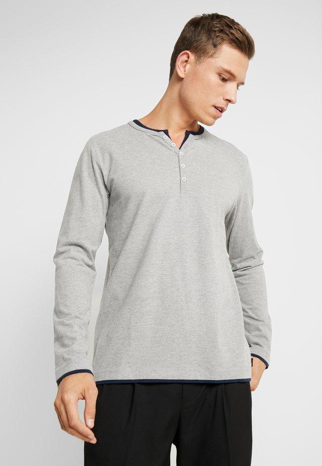 Långärmad tröja - medium grey