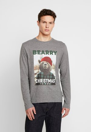BEARRY  - T-shirt z nadrukiem - medium grey