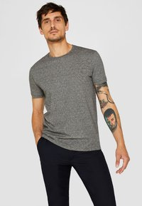 Esprit - Camiseta estampada - black - 0
