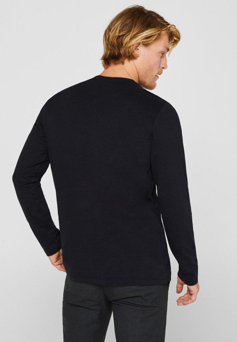shirt À Esprit Manches T LonguesBlack KTlcJF13
