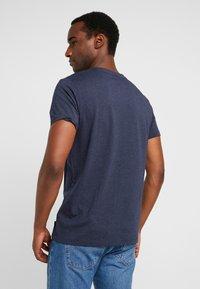 Esprit - LOGO TEE - T-shirt z nadrukiem - navy - 2