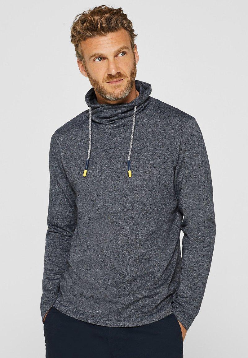 Esprit - MIT TUNNELKRAGEN - Long sleeved top - medium grey