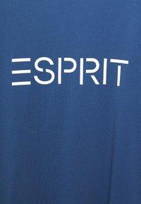 Esprit - LOGO - T-shirt con stampa - blue - 2
