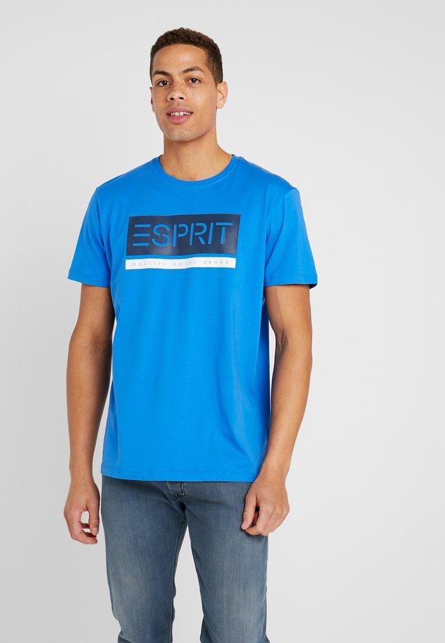 T-shirt z nadrukiem - bright blue