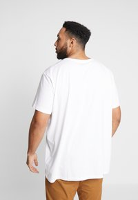 Esprit - LOGO - Print T-shirt - white - 2
