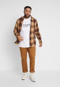 Esprit - LOGO - Print T-shirt - white - 1