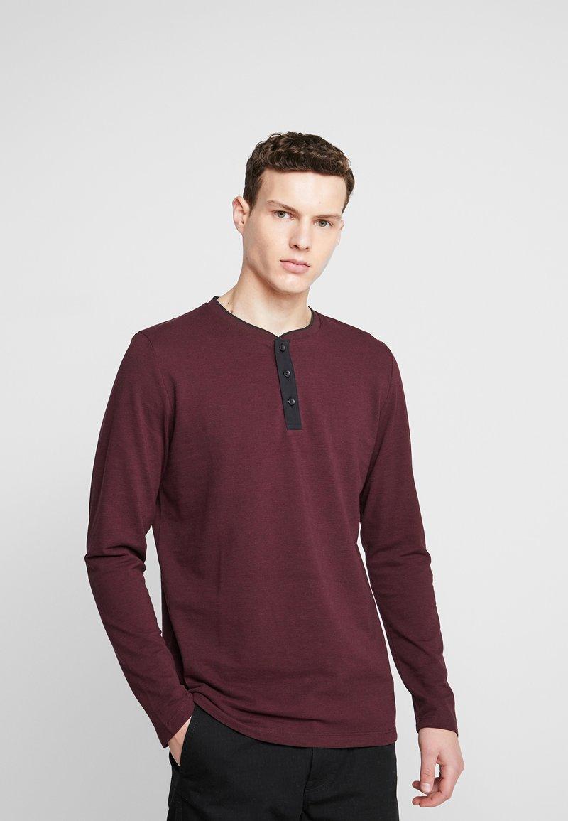 Esprit - Bluzka z długim rękawem - garnet red