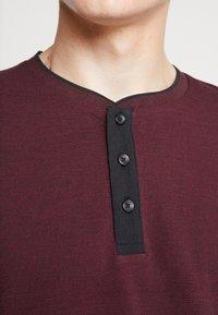 Esprit - Bluzka z długim rękawem - garnet red - 4