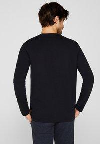 Esprit - LONG SLEEVE - Bluzka z długim rękawem - black - 2