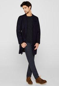 Esprit - LONG SLEEVE - Bluzka z długim rękawem - black - 1