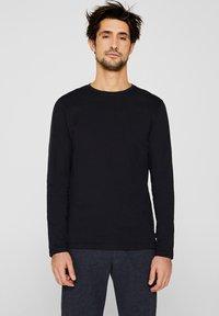 Esprit - LONG SLEEVE - Bluzka z długim rękawem - black - 0