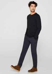Esprit - LONG SLEEVE - Bluzka z długim rękawem - black - 3