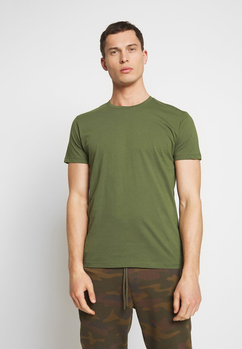 Esprit - Basic T-shirt - khaki green