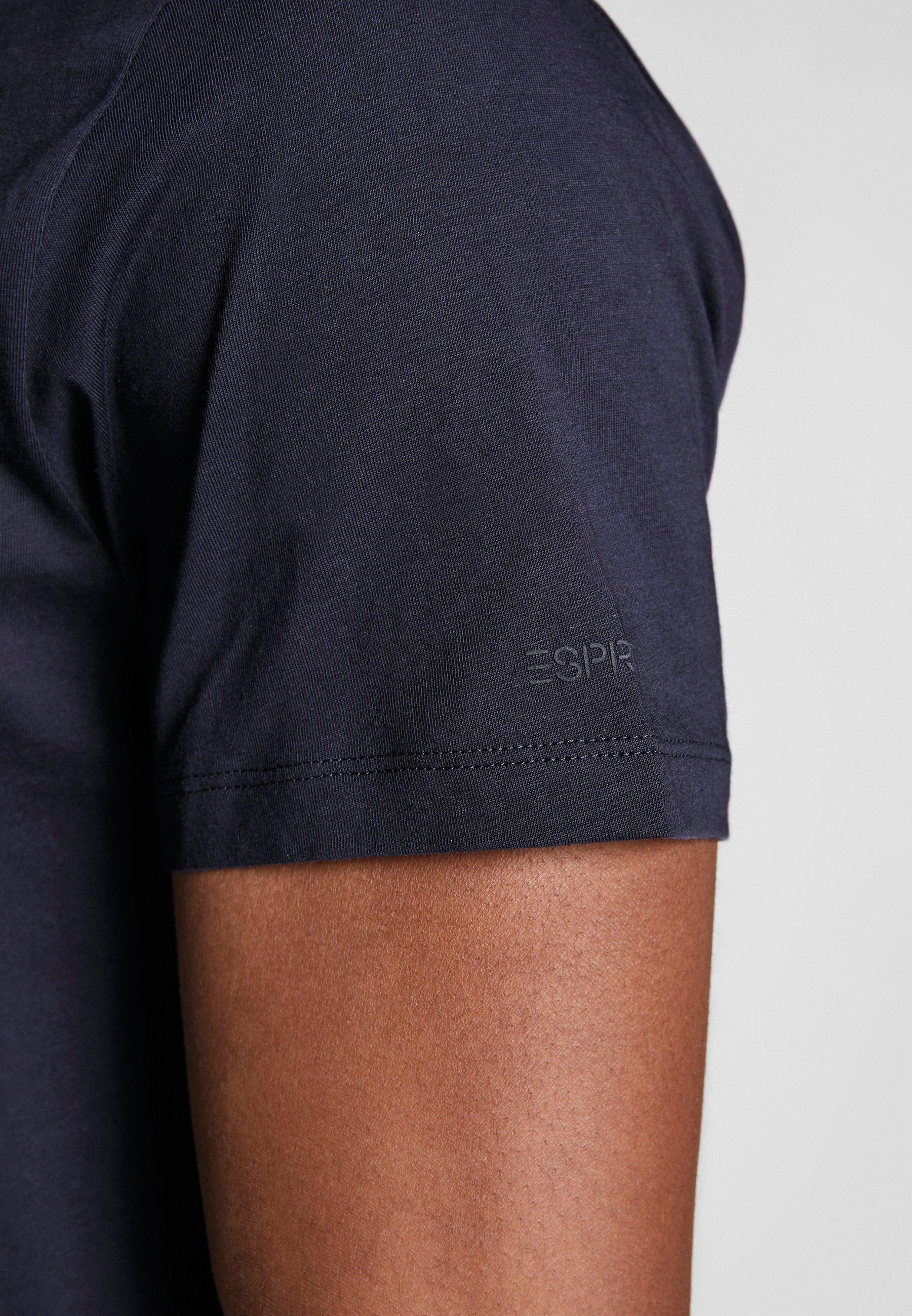 Esprit T-shirt basic - navy