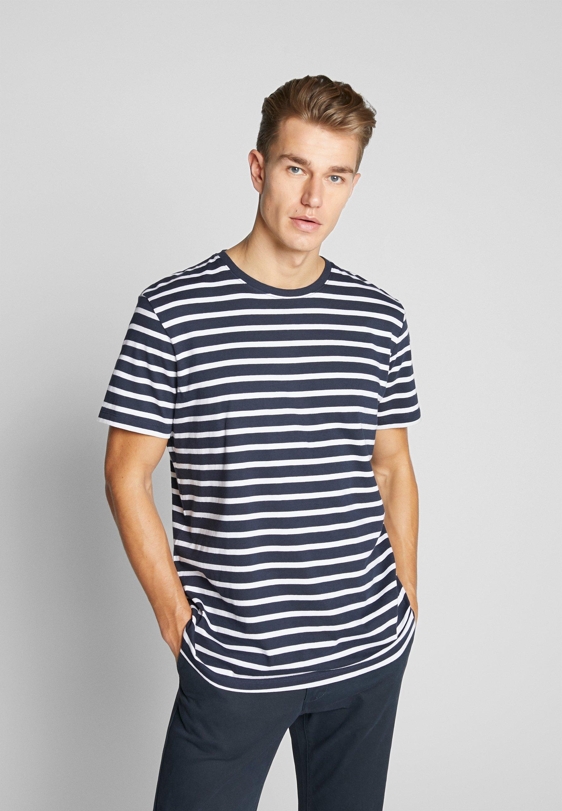 Esprit T-shirt z nadrukiem - navy