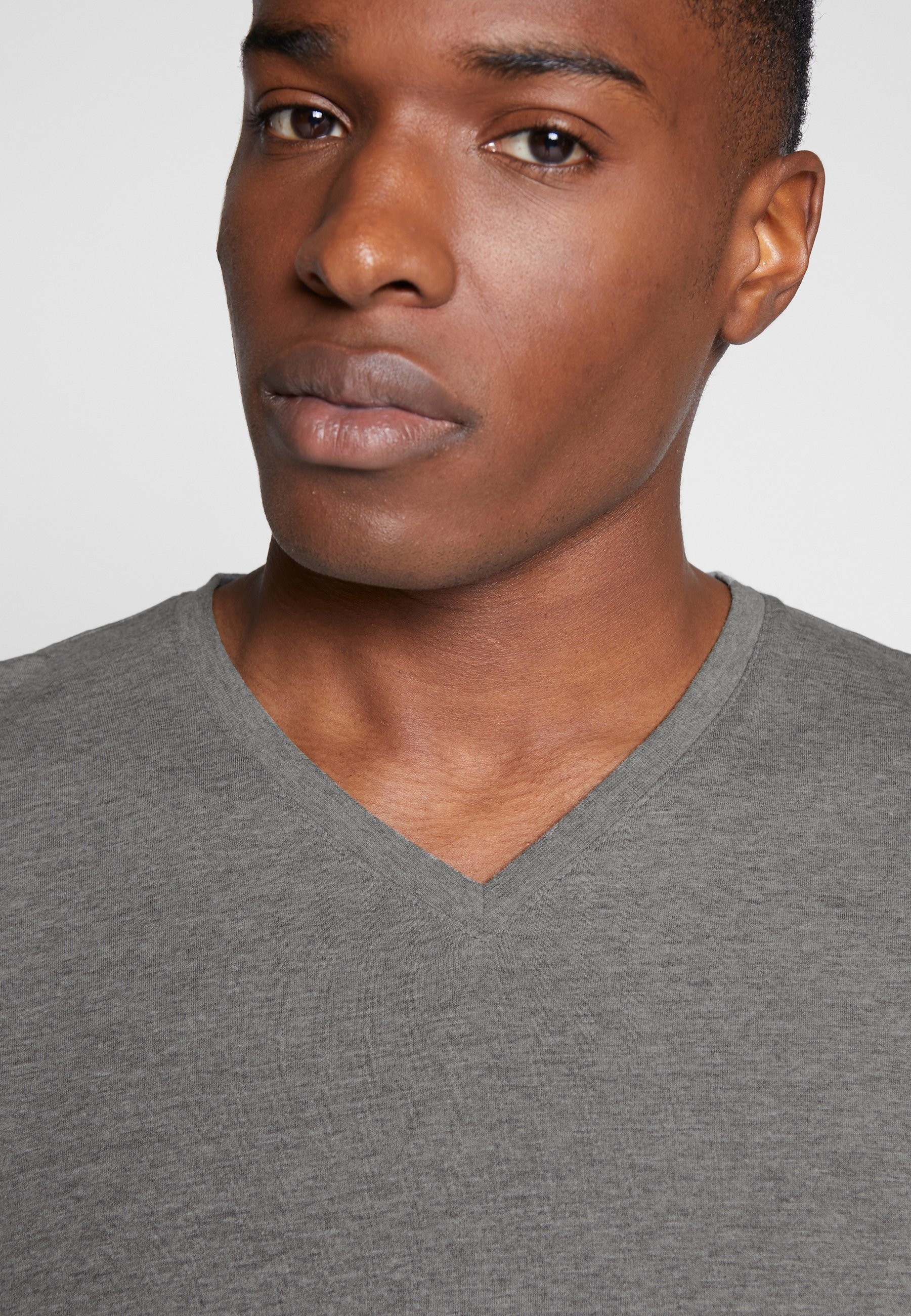 Esprit T-shirts basic - medium grey - Tøj Til Herrer Salg