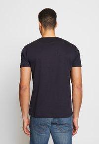 Esprit - 2 PACK - Basic T-shirt - navy - 2