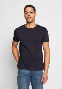 Esprit - 2 PACK - Basic T-shirt - navy - 1