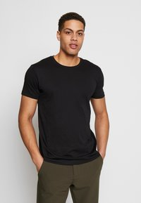 Esprit - 2 PACK - Basic T-shirt - black
