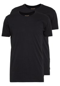Esprit - 2 PACK - Basic T-shirt - black - 0