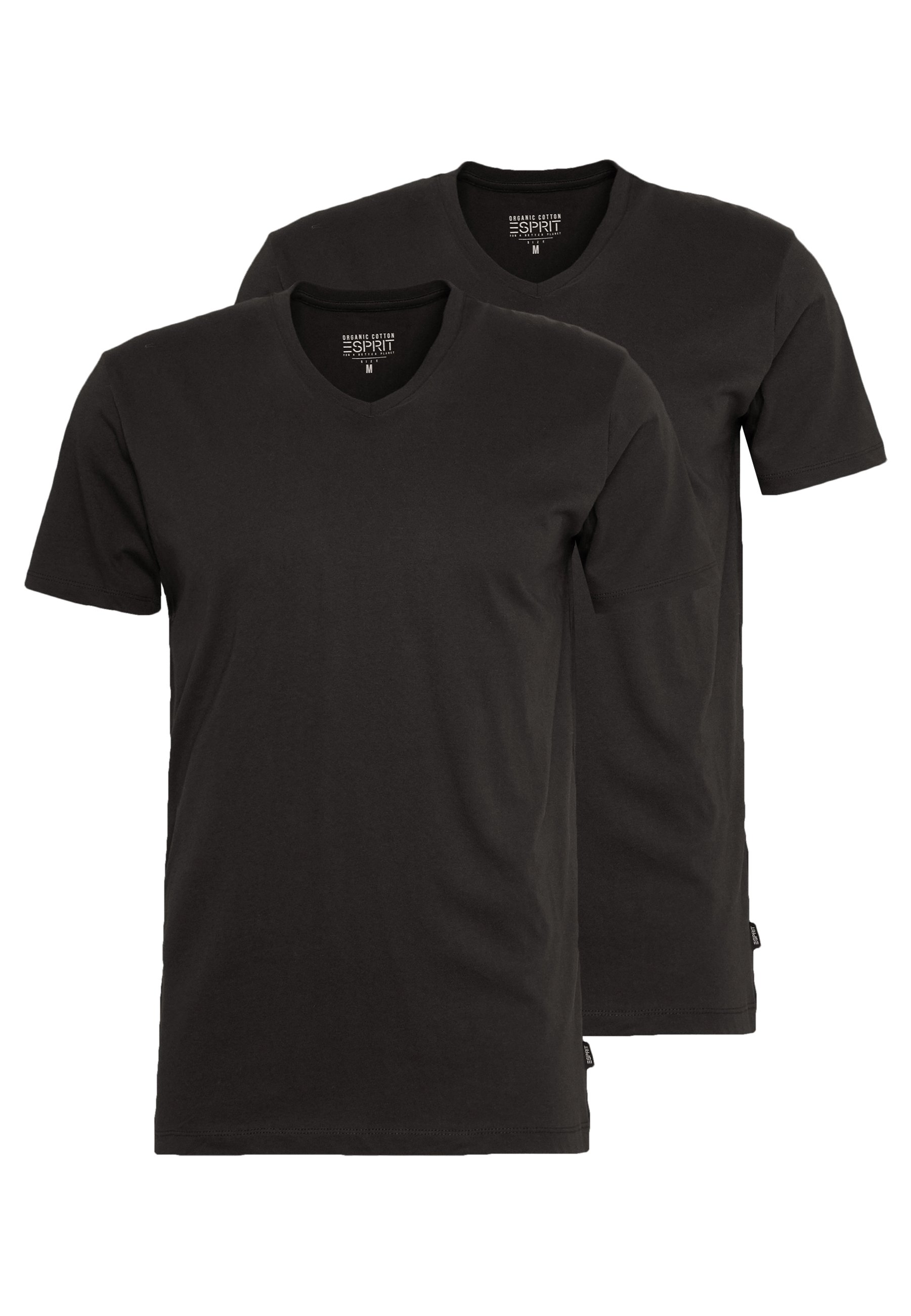 Esprit 2 Pack - T-shirts Basic Black