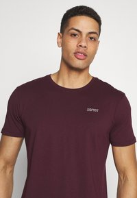 Esprit - ICON 2 PACK - T-shirt con stampa - khaki - 5