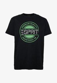 Esprit - Printtipaita - black - 4