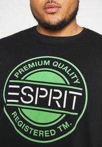 Esprit - Printtipaita - black - 5
