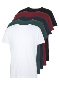 Esprit - 5 PACK - T-shirt basic - teal blue - 0