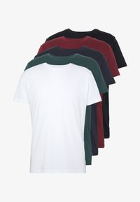 Esprit - 5 PACK - T-shirt basic - teal blue - 5