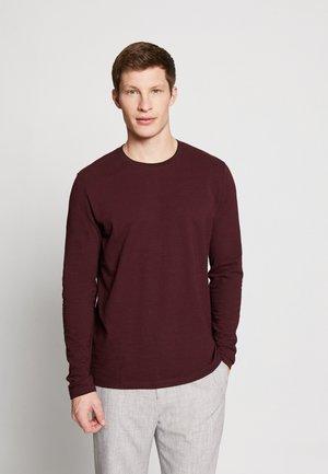 Bluzka z długim rękawem - garnet red