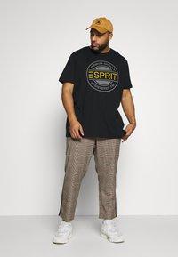 Esprit - ICON 2 PACK - T-shirt print - black - 1