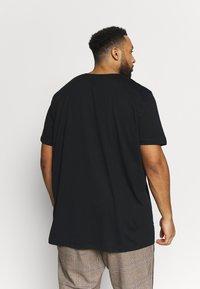 Esprit - ICON 2 PACK - T-shirt print - black - 2