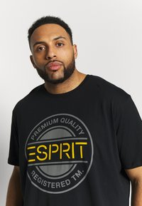 Esprit - ICON 2 PACK - T-shirt print - black - 5