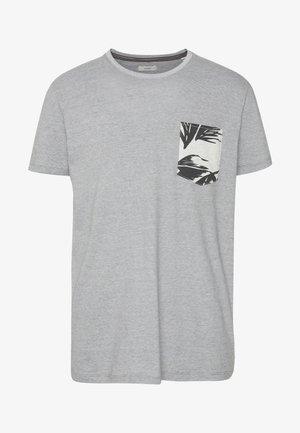 Printtipaita - medium grey
