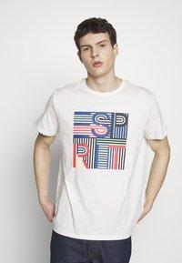 Esprit - Camiseta estampada - off white - 0
