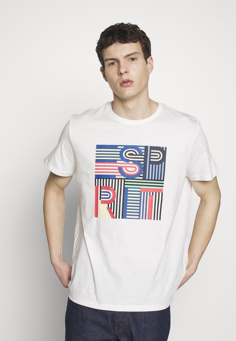 Esprit - Camiseta estampada - off white