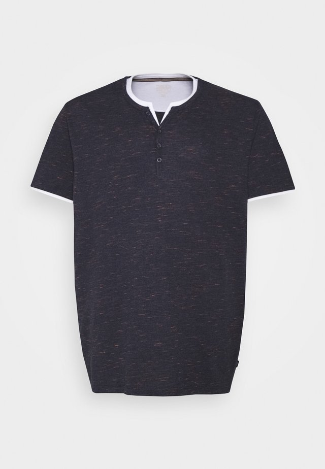 2IN1 - T-shirt print - navy