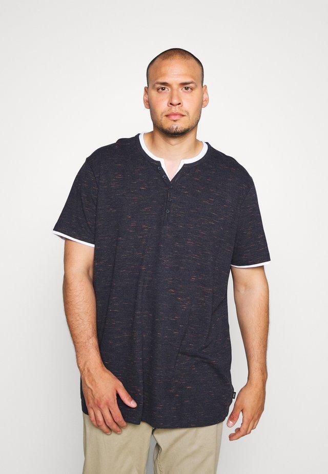 2IN1 - T-shirt med print - navy