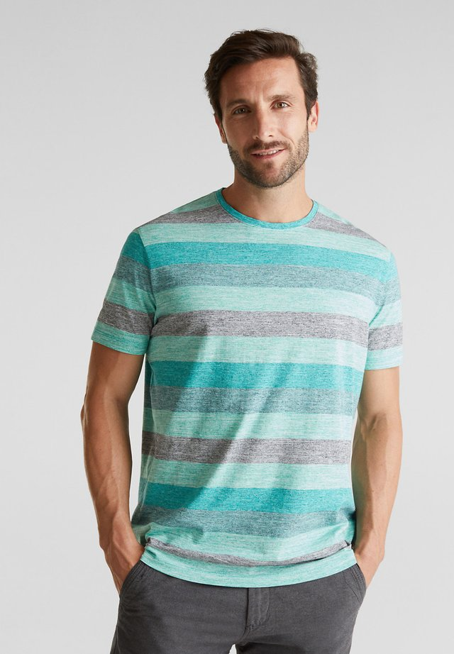 OCS - Print T-shirt - aqua green