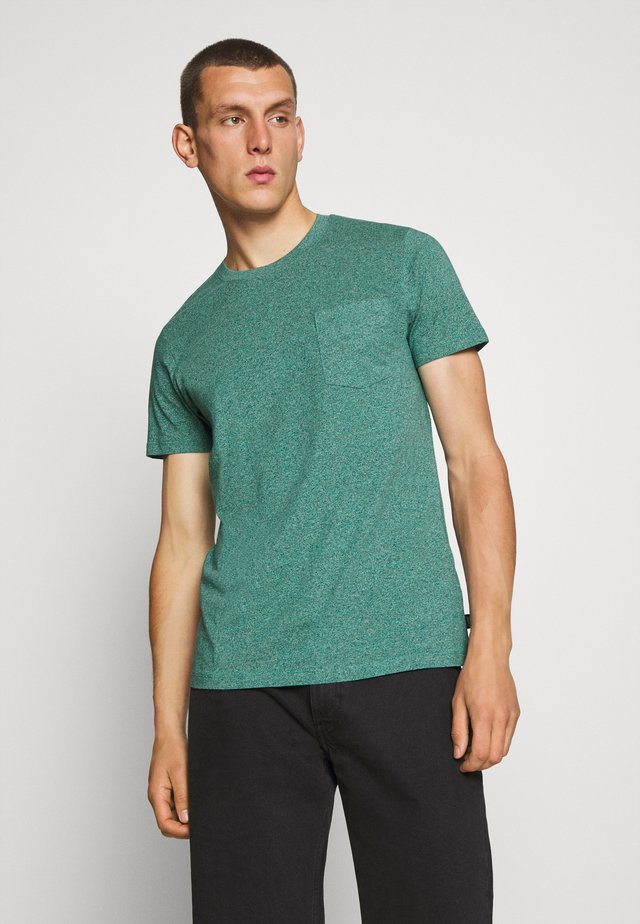 Basic T-shirt - aqua green