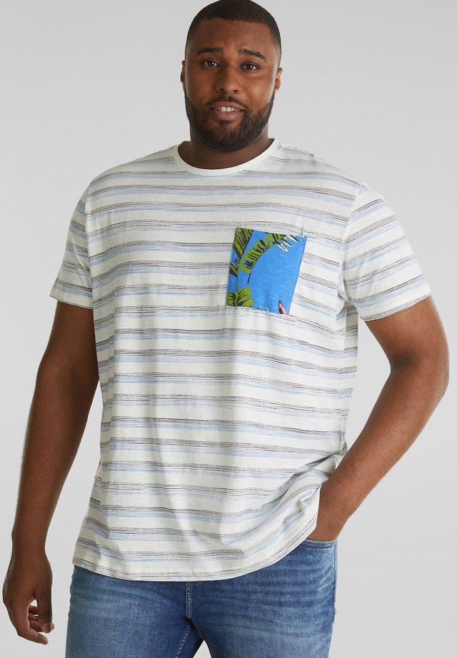 MIT TASCH - T-shirt print - off white