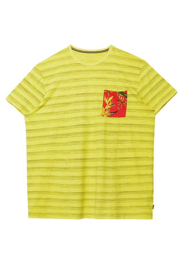 MIT TASCH - T-shirt print - yellow