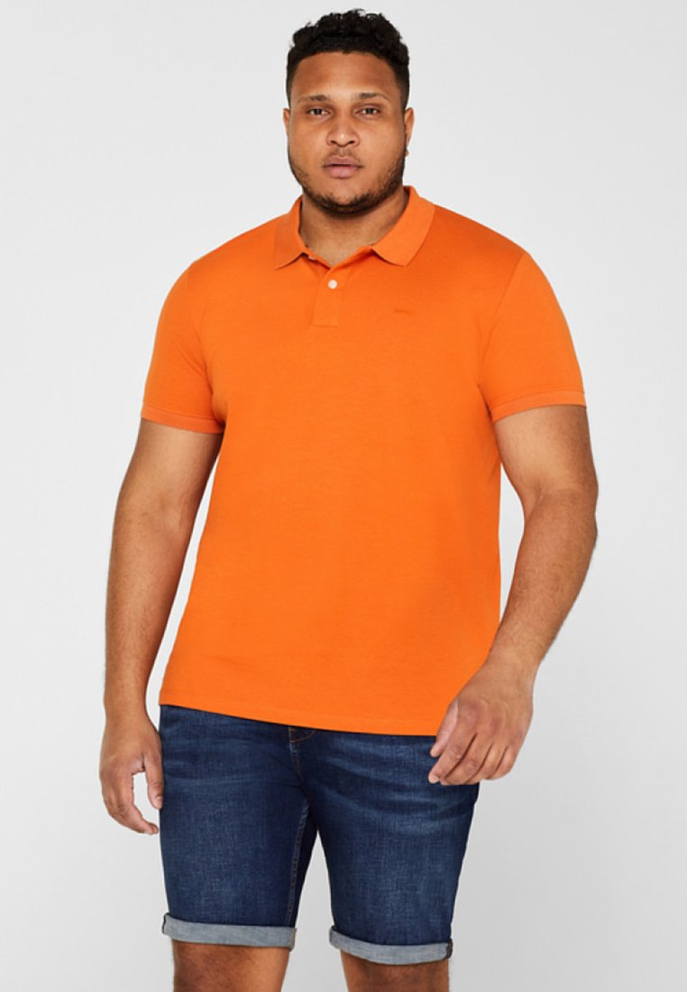 Esprit - BIG  - Polo - burnt orange