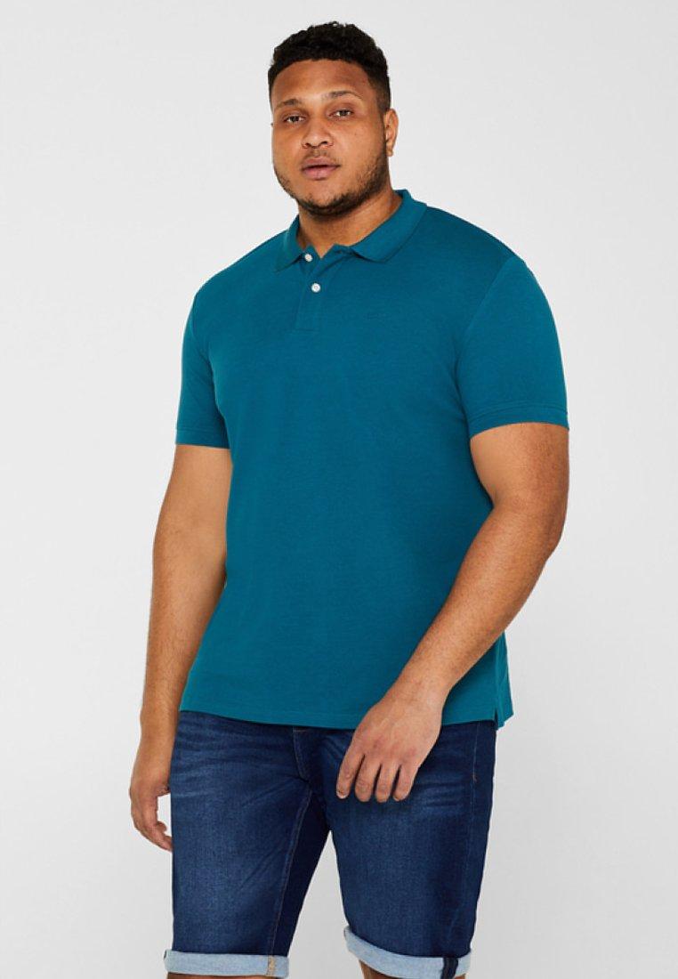 Esprit - BIG  - Polo shirt - petrol blue