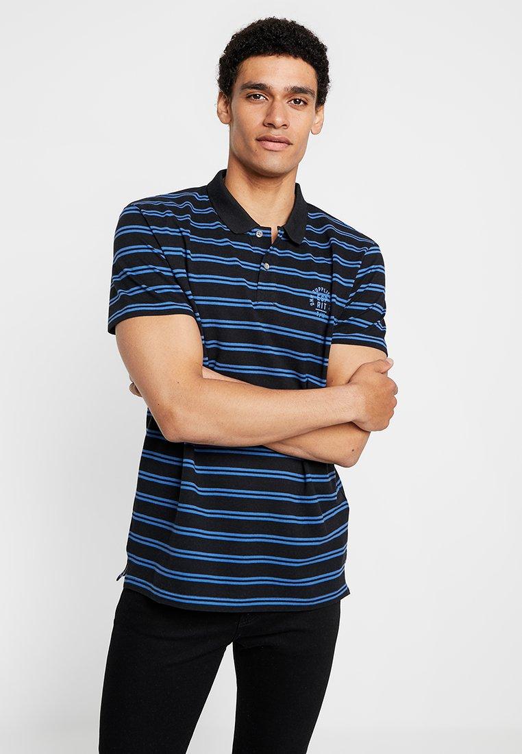 Esprit - STRIPE - Poloshirt - black