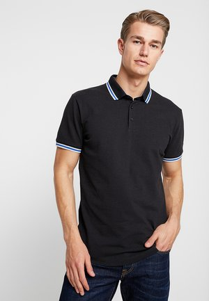 SPORTY - Poloshirts - black