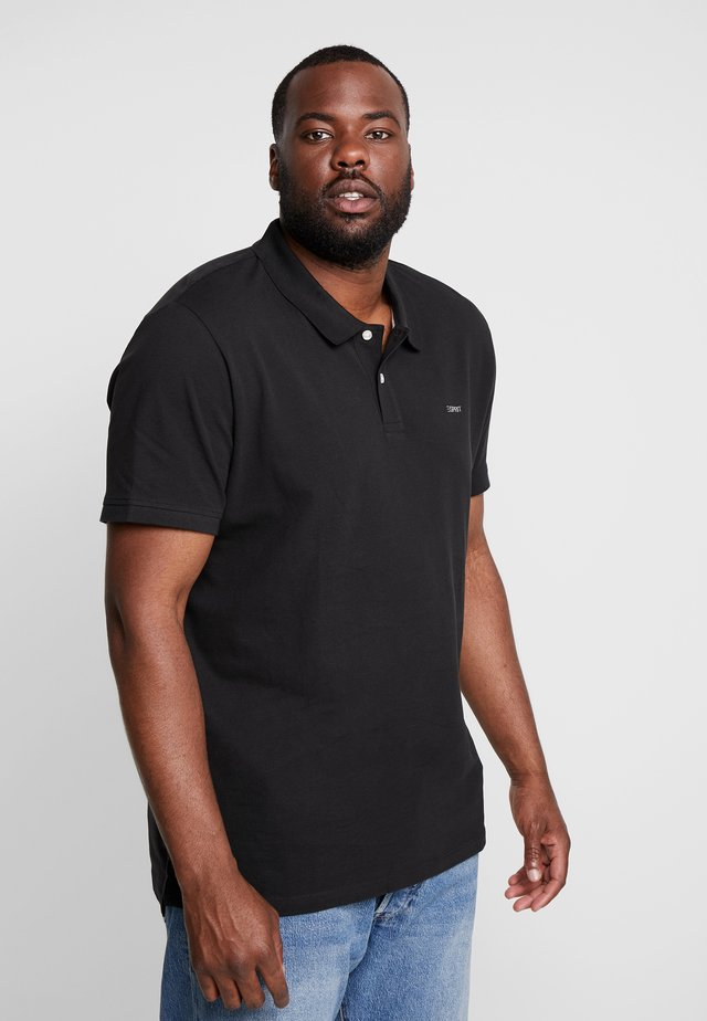 BASIC PLUS BIG - Polo - black