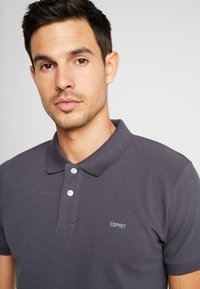 Esprit - Polo - anthracite - 3